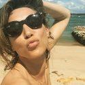 La fille de Johnny Hallyday, Laura Smet en lune de miel à l'île Maurice tout comme Jean Pierre Foucault